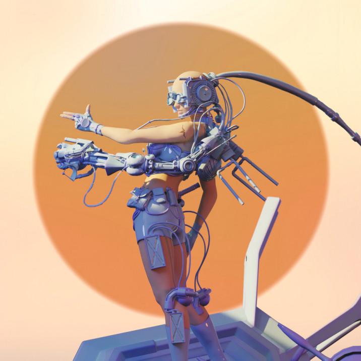 Aloniwerk Sci fi by Nils Ramses Kullack